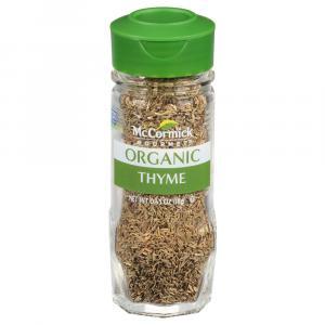 McCormick 100% Organic Thyme Leaves