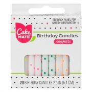 Cake Mate Confetti Candles