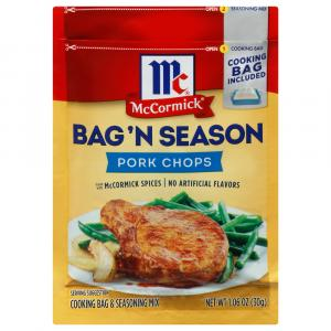 McCormick Pork Chops Bag 'n Season