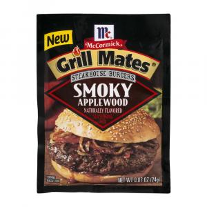 Mccormick Grill Mates Steakhouse Smoky Applewood Mix