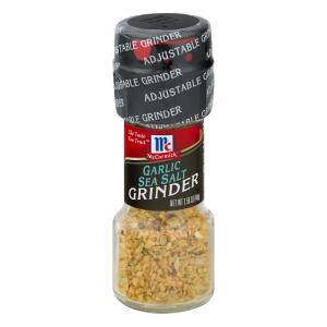 McCormick Garlic & Sea Salt Grinder