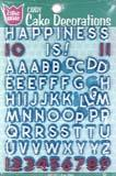 Cake Mate Cake Decoration Alphabet & Numbers
