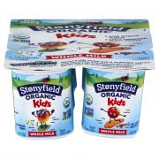 Stonyfield Organic Kids Pear Spinach Mango Apple Cinnamon