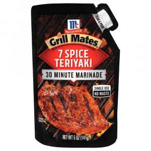 McCormick Grill Mates 7 Spice Teriyaki Marinade