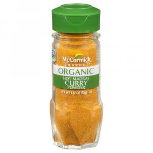 McCormick Gourmet Organic Hot Madras Curry Powder