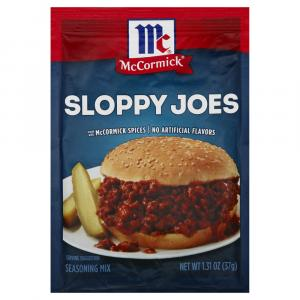 McCormick Sloppy Joe Seasoning Mix