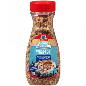 Mccormick Breakfast Toppers Blueberry Ginger