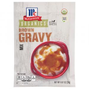 McCormick Organic Brown Gravy
