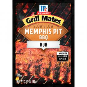 Mccormick Grill Mates Slow And Low Memphis Bbq