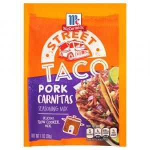 McCormick Street Taco Pork Carnitas Seasoning Mix