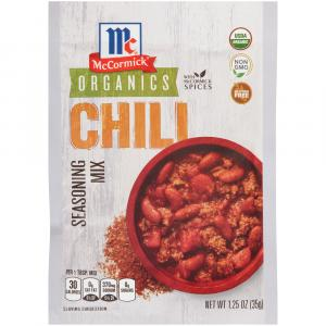 McCormick Organic Chili Seasoning