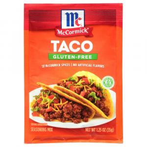 McCormick Gluten-Free Taco Seasoning Mix