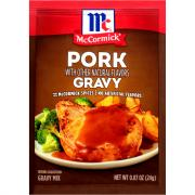 McCormick Pork Gravy Mix