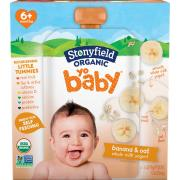 Stonyfield Organic Yo Baby Banana & Oat Whole Milk Yogurt