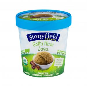 Stonyfield Organic Gotta Have Java Nonfat Frozen Yogurt
