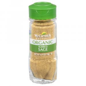 McCormick Gourmet Organic Rubbed Sage