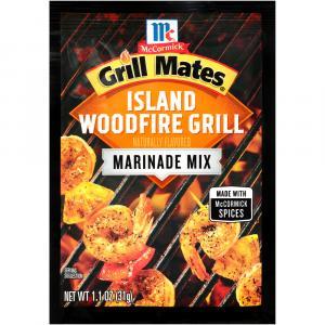 Mccormick Grill Mates Island Woodfire Grill Marinade
