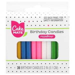 Cake Mate Assorted Candles
