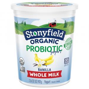 Stonyfield Organic Low Fat Banilla Yogurt