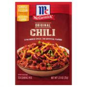 McCormick Chili Seasoning Mix