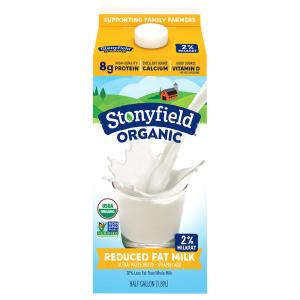 Stonyfield Organic 2% Milk
