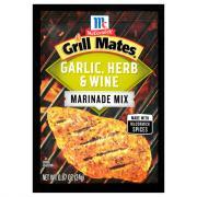 McCormick Grill Mates Garlic, Herb & Wine Marinade