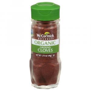 McCormick Gourmet Organic Ground Cloves