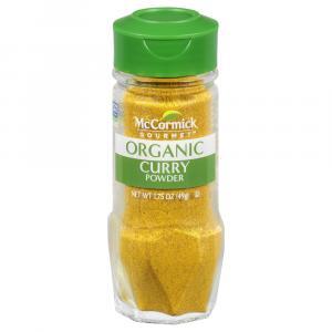 McCormick Gourmet Organic Curry Powder