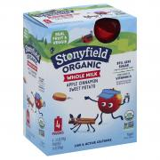 Stonyfield Organic Kids Whole Milk Apple Cinnamon Sweet