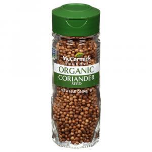 McCormick Gourmet Organic Coriander Seeds