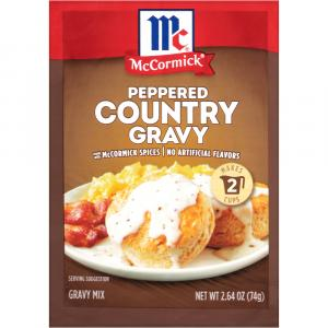 McCormick Peppered Country Gravy Mix