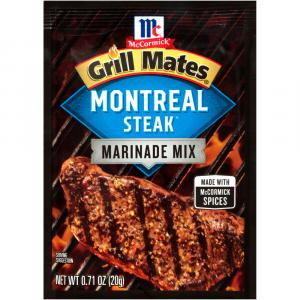 McCormick Grill Mates Montreal Steak Marinade Mix