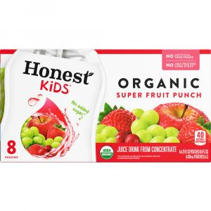 Honest Kids Organic Super Fruit Punch Thirst Quench