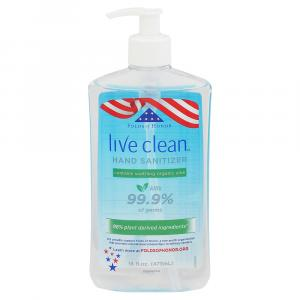 Live Clean Hand Sanitizer