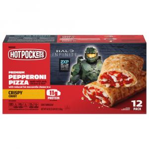 Hot Pockets Crispy Crust Pepperoni Pizza