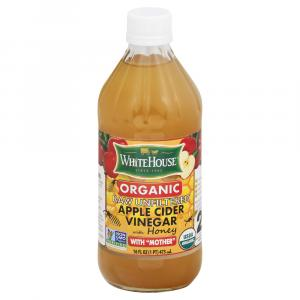 White House Organic Raw Unfiltered Apple Cider Vinegar