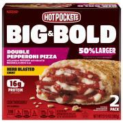 Hot Pockets Big & Bold Double Pepperoni Pizza