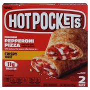 Hot Pockets Crispy Crust Pepperoni Pizza