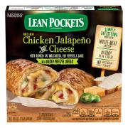 Lean Pockets Chicken Jalapeno and Cheese