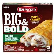 Hot Pockets Big & Bold Chicken Bacon Ranch