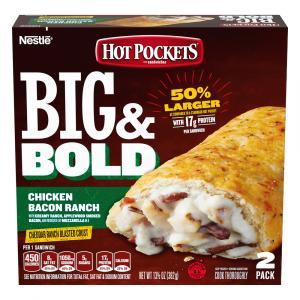 Hot Pockets Big & Bold Chicken Bacon Ranch