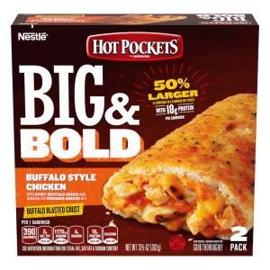 Hot Pockets Big & Bold Buffalo Chicken
