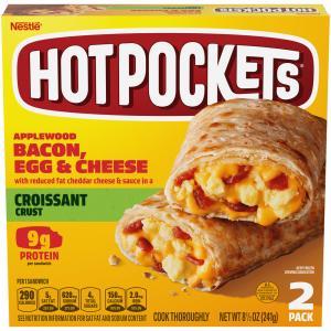 Hot Pockets Bacon Egg & Cheese