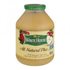 White House Natural Plus Applesauce