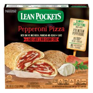 Lean Pockets Deluxe Pizza