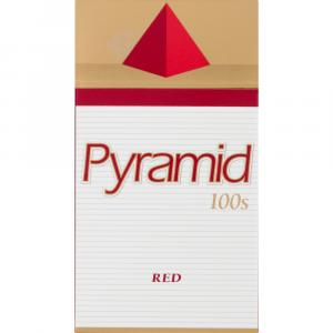 Pyramid 100s Box Red Pack Cigarettes