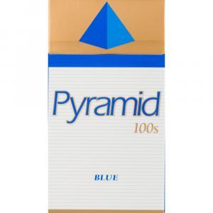 Pyramid 100s Blue Box Cigarettes