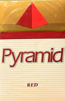 Pyramid Kings Red Box Cigarettes