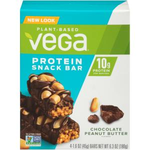 Vega Protein Snack Bar Chocolate Peanut Butter