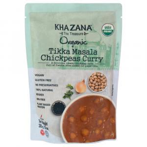 Khazana Organic Tikka Masala Chickpeas Curry